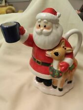 Nice Lenox Rudolph The Red Nosed Reindeer Teapot - Euc - Cute