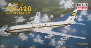 Minicraft 1/144 Lufthansa Boeing 707-420