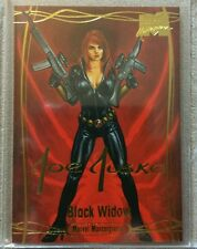 Black Widow 2016 Marvel Masterpieces #63 Joe Jusko Gold Foil Signature Series