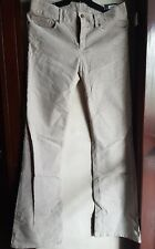 GAP WOMEN'S 1969 PERFECT BOOT MID RISE CORD PANTS-BEIGE,size 8/29 waist