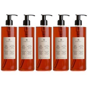 Prija Duschgel und Haarshampoo mit Ginseng 5x 380 ml Flakon Hair & Body Spender