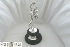 More details for very rare queen elizabeth ii hm sterling silver bacchante statue 1963