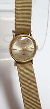 Vintage Timex Ladies 17 Jewels Windup Watch - cloth band