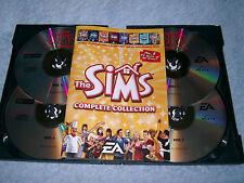 Sims Collezione Completa PC-CD v.g.c. Post veloce (completa originale + manuale)