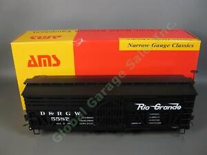 Accucraft AMS G Scale AM31-260 Rio Grande Double Deck Sheep Car D&RGW 5587 1:20
