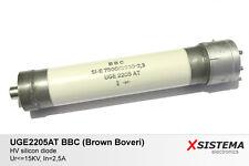 UGE2205AT BBC Brown Boveri High Voltage HV Diode / Rectifier 15KV 2,5A. RARE!
