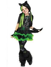 Girl's Kool Kat Costume L(10-12)