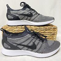 Nike Air Zoom Mariah Flyknit Racer Size 10 Black / Oreo Running Shoes 918264-015