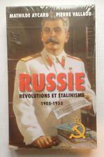 Russie Révolutions et Stalinisme 1905 - 1953 Mathilde Aycard Pierre Vallaud Neuf