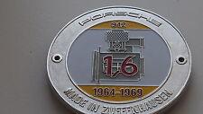 Porsche 912 901 parrilla insignia emblema insignia SWB insignia de Vintage 1.6 Vintage