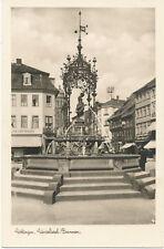 alte AK Göttingen vor 1945, Gänseliesel-Brunnen