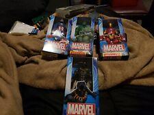 Marvel legends lot, iron man,captain America, hulk, black panther figures.
