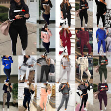 Damen Fitness Trainingsanzug Jogginganzug Hausanzug Sport Pullover Hosen Anzug