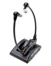 TV Ears versión 5.0 Analógico Inalámbrico Infrarrojo TV Auriculares Sistema