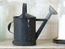 20th Century French Watering Can with Black patina / Ancien Arrosoir Garden Zinc