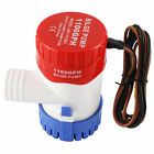 1100GPH 12V 29mm ID Electric Marine Submersible Bilge Sump Water Pump for Boat photo