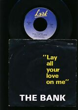 ABBA - The Bank - Lay All Your Love On Me - 7 Inch vinyl - BELGIUM