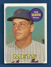 1969 Topps #480 Tom Seaver Baseball Card Ex/ExMt New York Mets