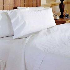 2 New White T180 Platinum Label Pillow Cases Standard Size 20X30