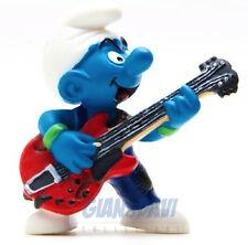 20449 Lead Guitar Chitarrista 2B PUFFO PUFFI SMURF SMURFS SCHTROUMPF