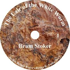 The Lair of the White Worm Mystery Horror Audiobook by Bram Stoker on 1 MP3 CD