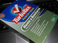 2007 TurboTax Home & Business Federal & State Turbo Tax NEW sealed Retail Box!