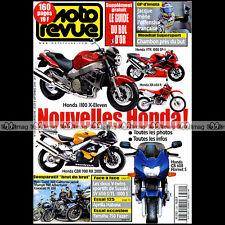 MOTO REVUE N°3390-b HONDA X11 TRIUMPH 900 ADVENTURER ★ PROGRAMME BOL D'OR 1999 ★
