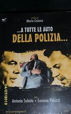 DVD - A TUTTE LE AUTO DELLA POLIZIA (FERZETTI/SALERNO) * Sigillato e perfetto*