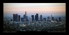 Poster Panorama Los Angeles California Panoramic Print Griffith Observatory
