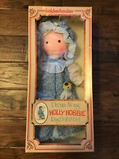 "1977 (Knickerbocker) ""Holly Hobbie"" (Dream Along) ""Holly"" Rag Doll & Pet, Rare!"