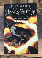 Harry Potter and the Half-Blood Prince JK Rowling UK Import Book