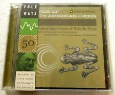 Sounds of North American Frogs New Sealed Cd Aa111