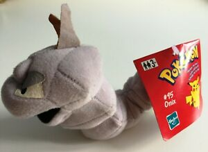 Pokemon Onix Soft Plush Toy Figure Hasbro