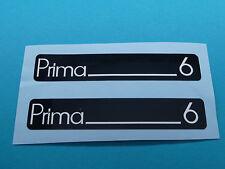 Hercules Prima 6 Trittbrett Aufkleber Dekor Schriftzug Verkleidung Sticker