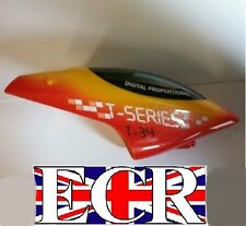 NEW MJX T34 RC HELICOPTER PARTS & SPARES CANOPY HEAD COVER RED