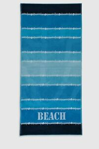 SUN SEA SAND SET Beach towel and flip flop for MEN 7.5 US SIZE FREE SHIPPING