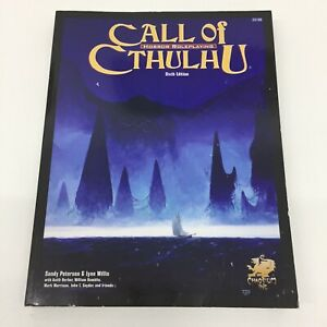 HP Lovecraft Chaosium D & RPG Call Of Cthulhu 6TH Edition Regelbuch 23106 (2005)