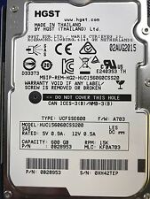 "Hitachi HUC156060CSS200 HGST 600GB 15K SAS 2.5"" Hard Drive 12Gbps"