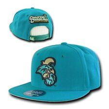 Coastal Carolina University CCU Chanticleers Flat Bill Snapback Baseball Hat Cap
