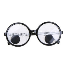 Funny Googly Eyes Goggles Shaking Eyes Party Glasses for Halloween&Party Decor W