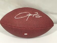 Odell Beckham Jr Autographed Full Size New York Giants Football PAAS  COA