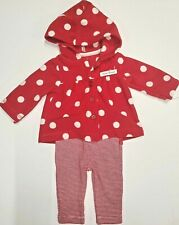 Carters Newborn Child of Mine Red polka Dot Winter Outfit
