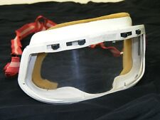 Old Motorcycle Glasses,Glasses Vintage Car Helmet - Protective Goggles White Red