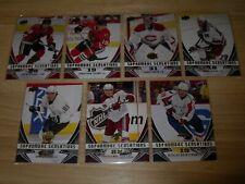 08-09 Upper Deck Sophomore Sensations Set 7 Card Lot
