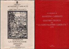 A.CARRACCI E G.FRANCO-INCISIONI PER LA GERUSALEMME LIBERATA 1590-ARTE-1979-L1968