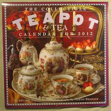 Collectible Teapot & Tea Calendar 2012 new