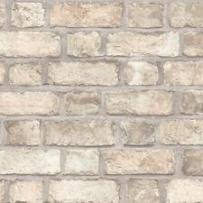 Norwall FH37516 Farmhouse Brick Prepasted Wallpaper