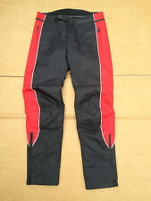 "FRANK THOMAS Mens Textile Waterproof Motorcycle Trousers UK 30""  31"" Waist  No41"