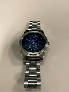LG Watch Urbane 46mm Stainless Steel Case and Band + Black Classic Band