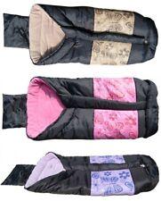 Winterfußsack Kinderwagen - Fußsack für Buggy Babyfußsack Rosa,Braun,Blau NEU DE